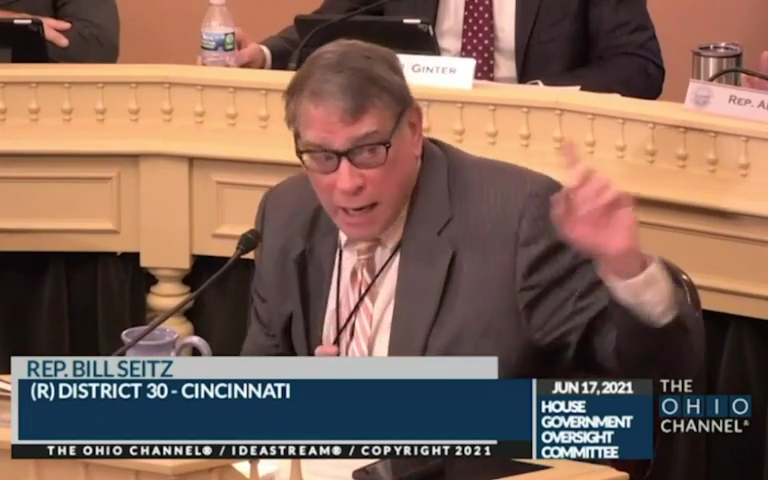 Ohio Reps. Bill Seitz and Emilia Sykes clash in committee hearing