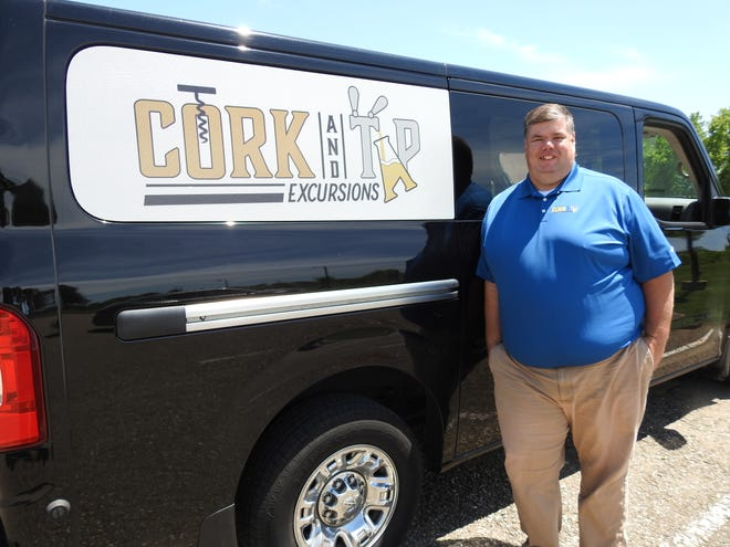 Mike Garbrandt, originally of Coshocton, recently started Cork and Tap Excursions to provide transportation to wineries, breweries and distilleries in six counties. He hopes to add more drivers and vehicles and expand the tour scope, such as to Amish country.