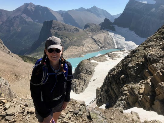 Jen Moseley enjoys being outdoors, taking trips with her friends, hiking, biking and hunting. She visited Glacier National Park with a group of friends in August 2020.
