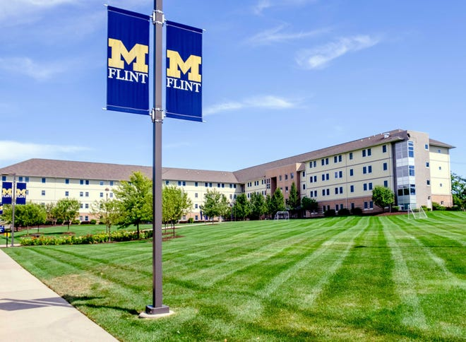 The First Street Residence Hall on the campus of the University of Michigan-Flint.