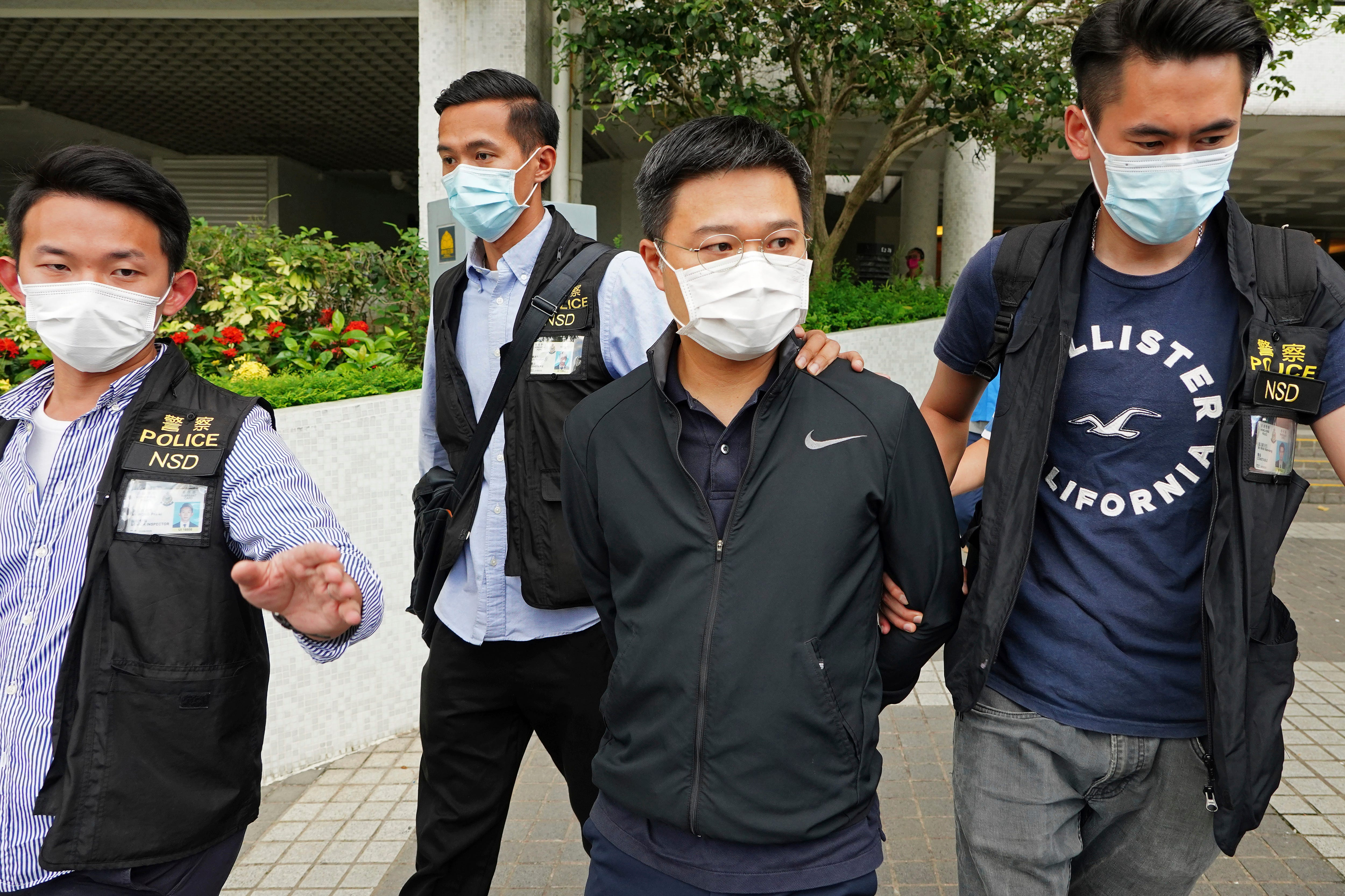 Apple Daily editors arrested under Hong Kong security law 2