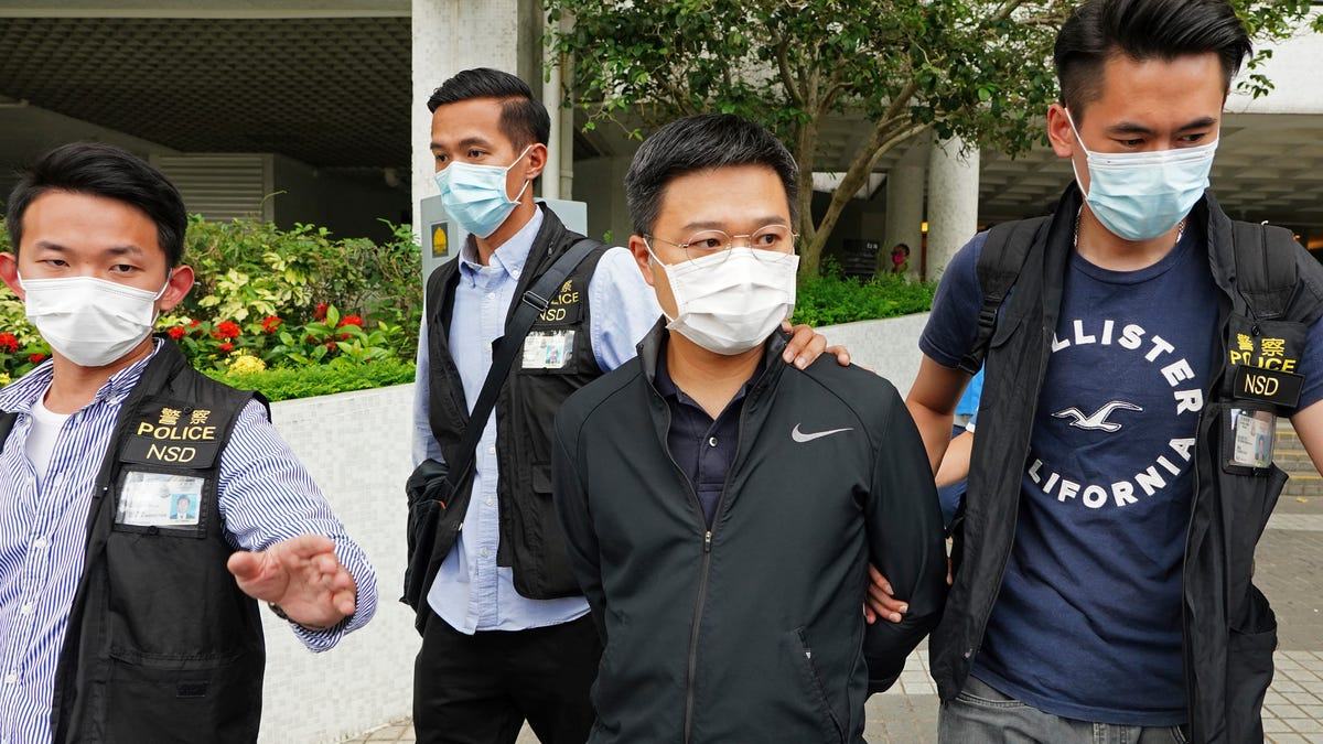 Apple Daily editors arrested under Hong Kong security law 3