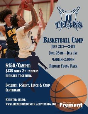 Terra State Community College men's basketball camp