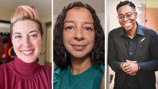 From left to right, the three finalists for Fort Collins' first diversity, equity and inclusion officer are: Naomi Nishi, Claudia María Menéndez and Patrice Palmer. The city is hosting community forums and other events the week of June 21.