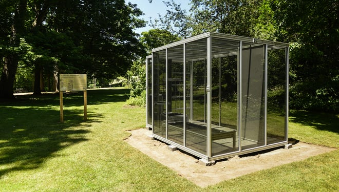 """""""A Solitary Greenhouse,"""" seen Thursday, June 17, 2021, at the W.J. Beal Botanical Garden at Michigan State University."""