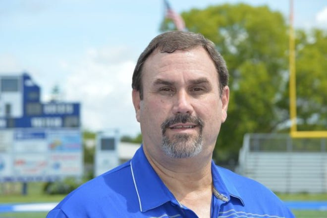 A photo of Ken Andiorio shortly when he became athletic director Barron Collier in 2014. Andiorio recently retired after 27 years in school.