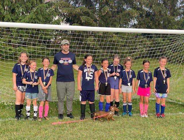"The Granville ""Blue Otters"" won the Gahanna Soccer Association tournament title."