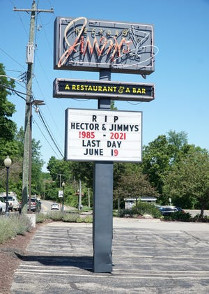 Hector and Jimmy's in Milford is closing.