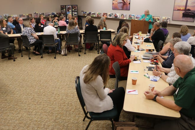 More than $50,000 in grant funding, all raised through donations to the Ottawa County Community Foundation, was awarded to dozens of local nonprofit organizations and agencies at their annual awards banquet at the Sutton Center on Thursday.