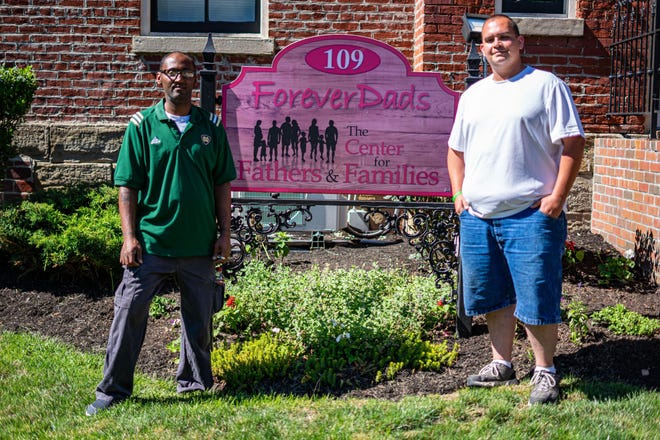 Leonard Ford (left) and Paul Kessler have found success in fatherhood after years of dedication through Forever Dads.