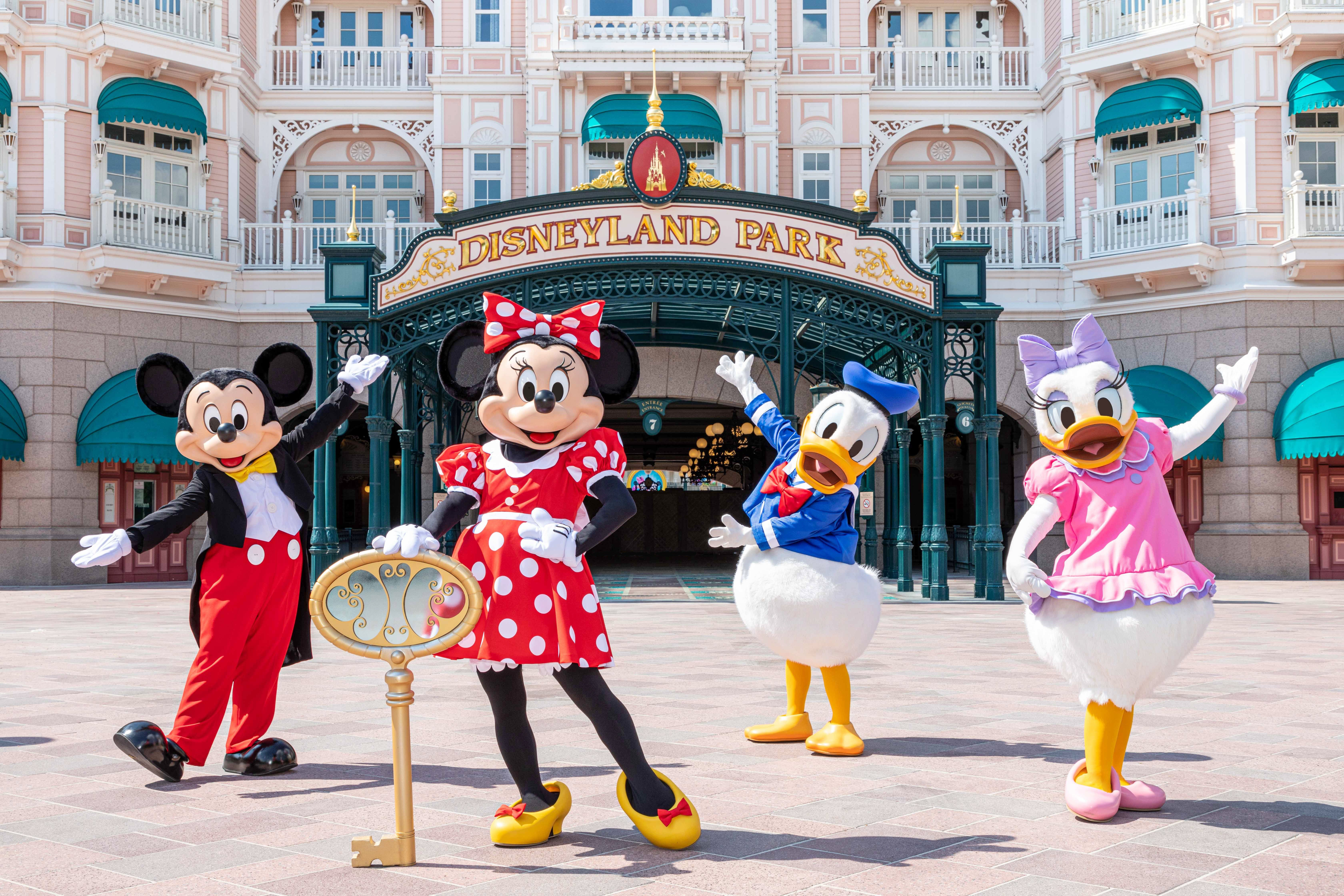 Disney theme parks welcome guests back worldwide