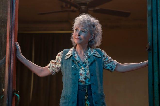 """Rita Moreno hace el papel de Valentina, una nueva incorporación al """"West Side Story"""" rehacer."""