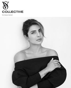 Priyanka Chopra is one of the new faces of Victoria's Secret.