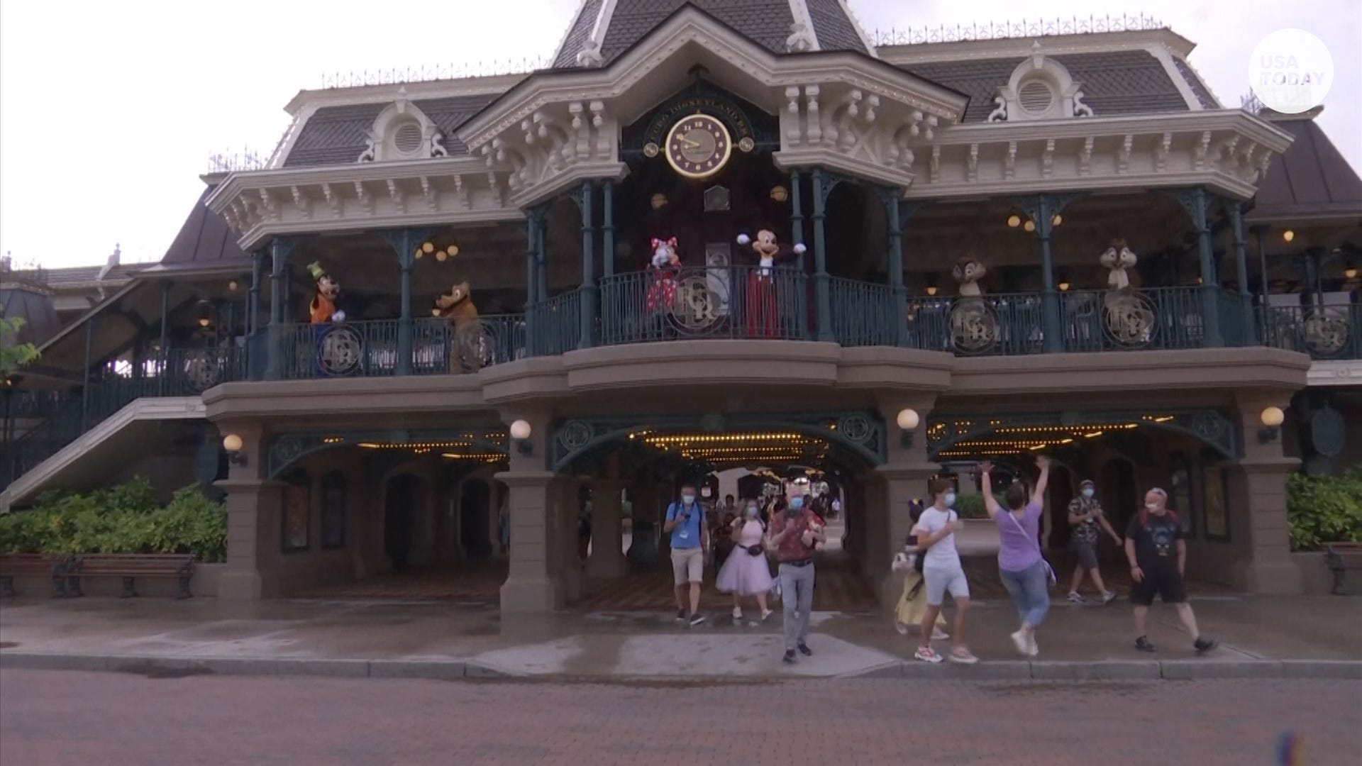 Disneyland Paris has reopened after about eight months of being closed due to COVID-19
