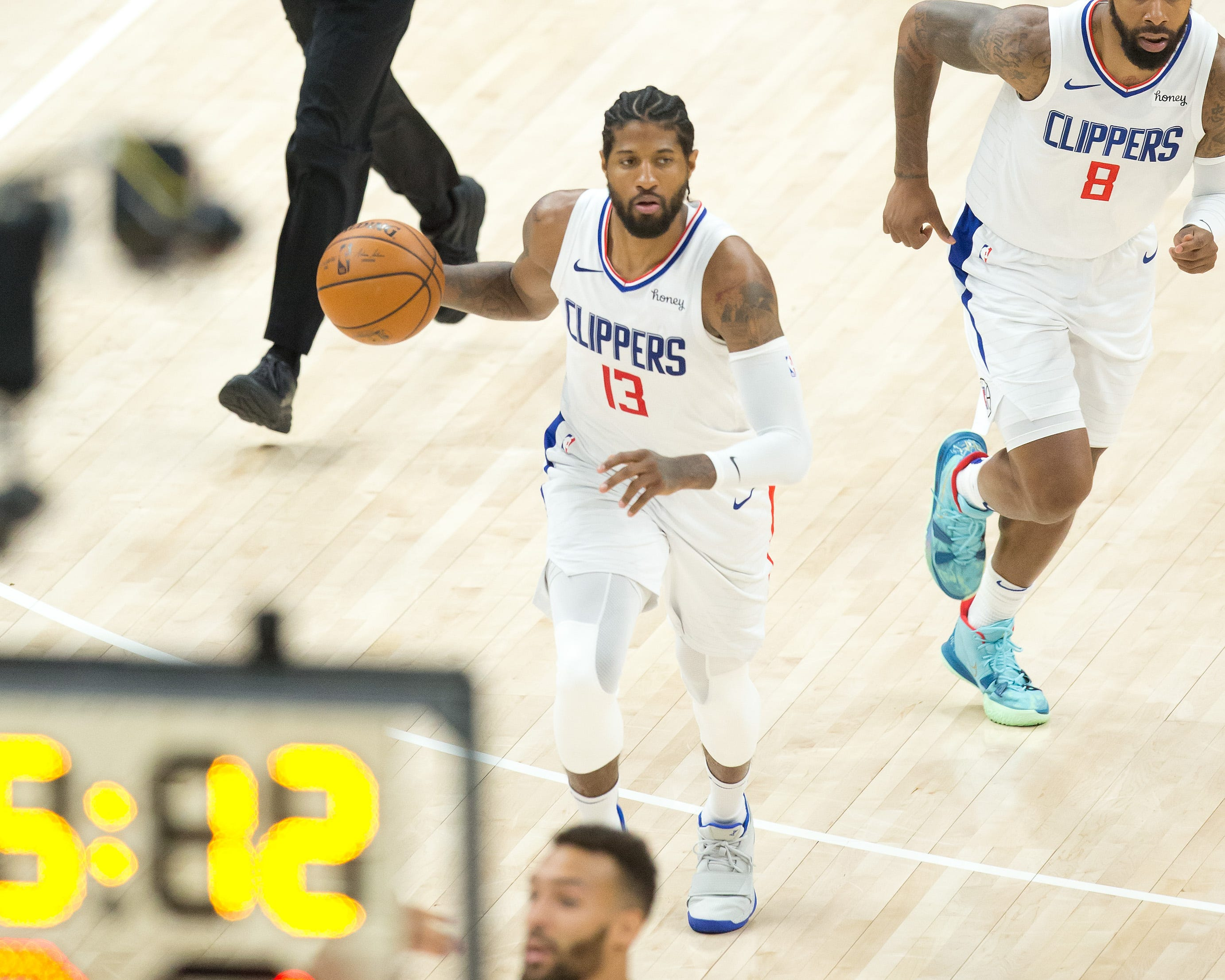'I got us': How Clippers' Paul George lived up to 'Playoff P' in Game 5 win over Jazz