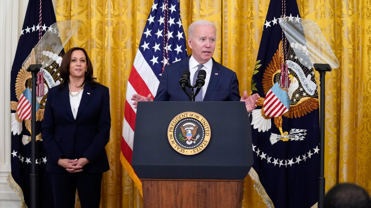 Biden's approval rating hits new low in latest Gallup poll