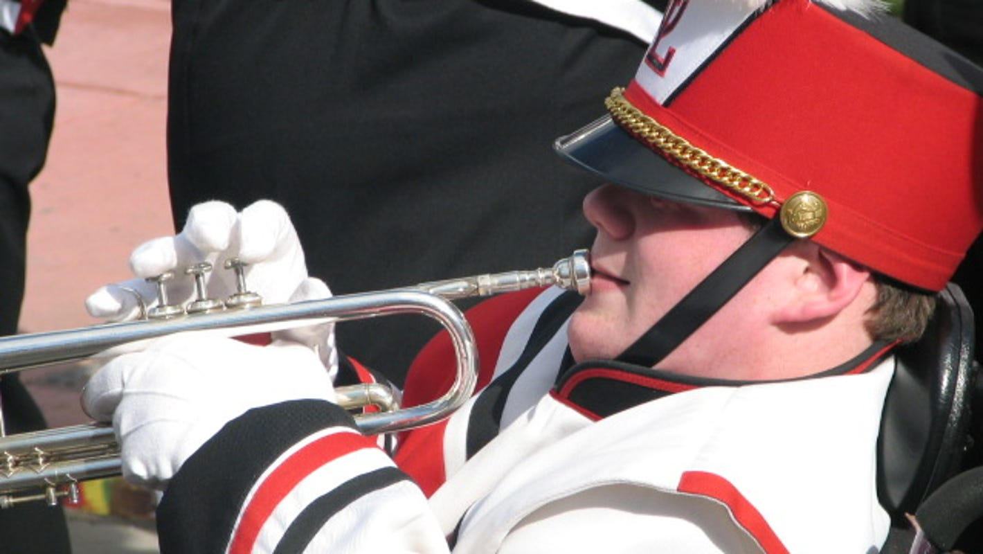 Father's Day inspiration: Why one dad pushed his son's wheelchair in the marching band