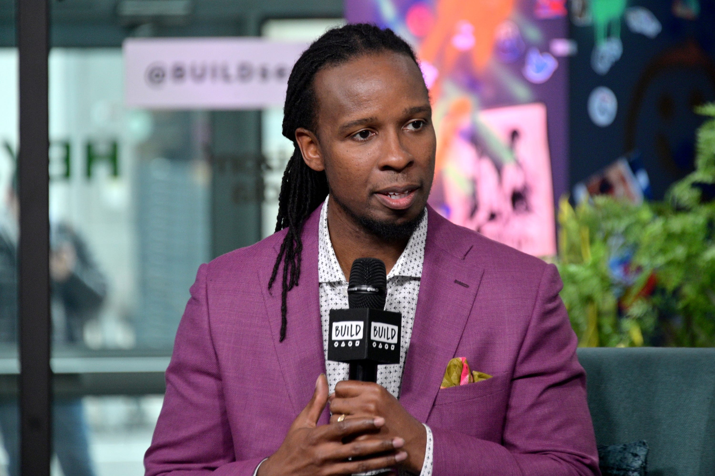 """Ibram X. Kendi discusses the book """"Stamped: Racism, Antiracism and You"""" on March 10, 2020, in New York City."""