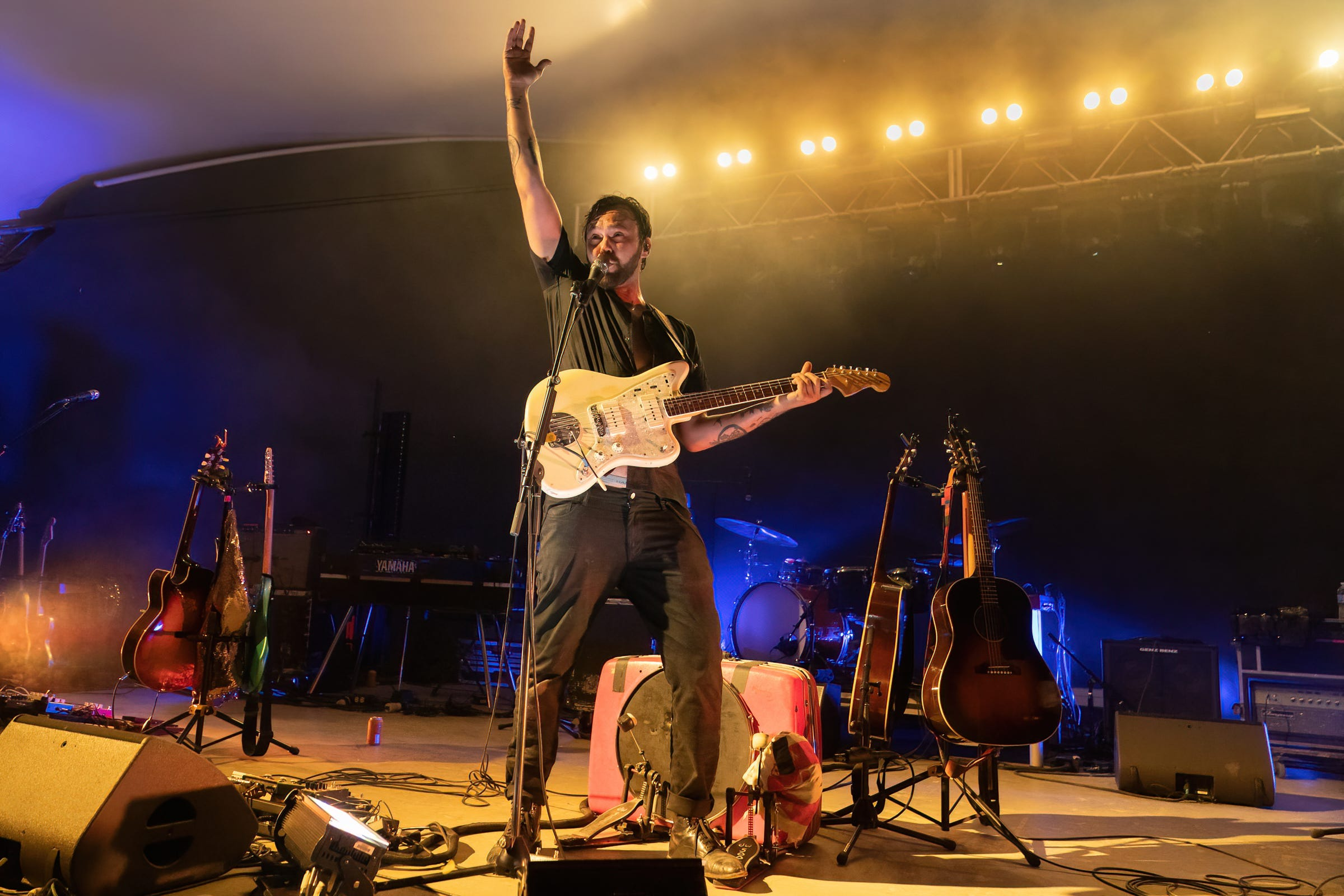 Shakey Graves revels in the return to live music on first of two nights at Stubb s