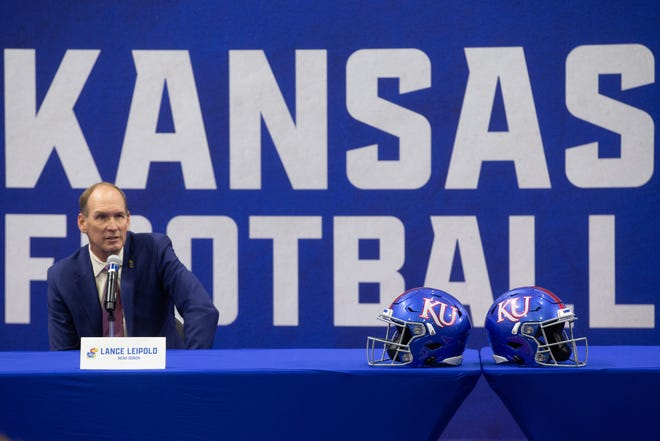New Kansas football coach Lance Leipold went 24-10 with three consecutive bowl appearances in his final three seasons at Buffalo.