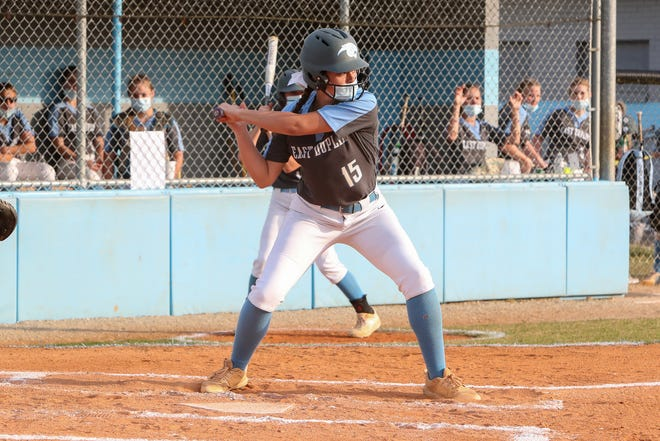 East Duplin senior Summer Mercer is The Daily News Softball Player of the Year. [Tina Brooks / The Daily News]