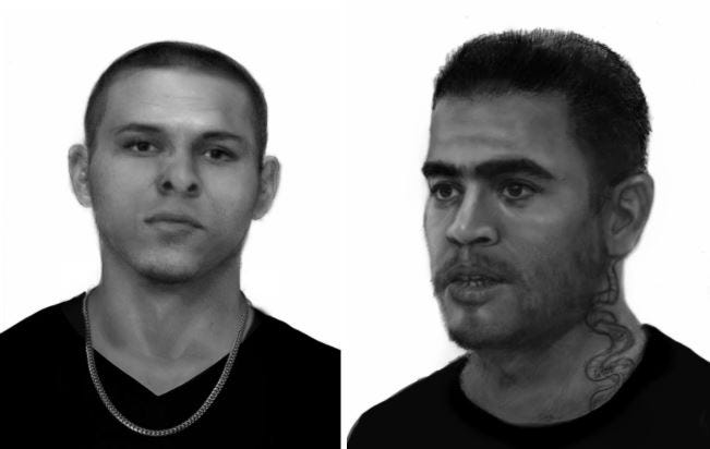 Lubbock police on Friday released these renderings of two suspects believed to be responsible for a recent sexual assault.