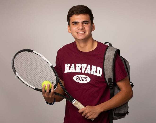 Winter Haven's Nicholas Lopez played tennis and was Winter Haven's valedictorian.