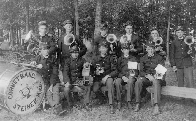The Steiner Cornet Band.