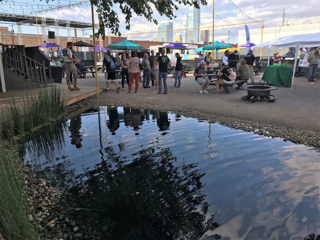 The cannabis community gathers June 3 for a GreenGrow kickoff party at Relax Park in downtown Oklahoma City.