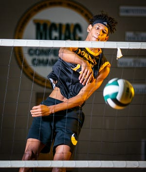 Forest's Klistan Lawrence, an outside hitter, is this year's Ocala Star-Banner Boys Volleyball Player of the Year. Lawrence helped lead the Wildcats to a 16-1 season and a trip to the state semifinals.
