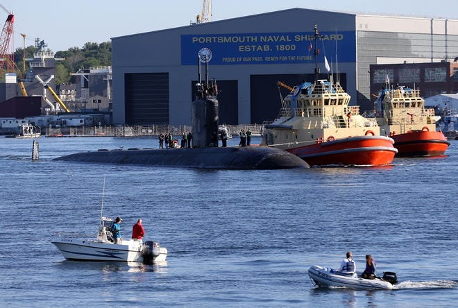 Portsmouth Naval Shipyard will conduct routine security response training in the vicinity of 2KR Buoy located outside of the mouth of the Piscataqua River on Monday, Aug. 30 and Wednesday, Sept. 1.