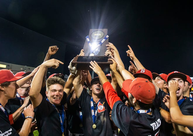 The Springfield High School baseball team is The State Journal-Register's Team of the Year. [JUSTIN L. FOWLER/THE STATE JOURNAL-REGISTER]