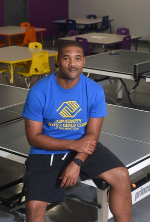 Jarett Gattison, Director of the Community Boys & Girls Club, stands in the game room at the organization in Wilmington, N.C., Friday, June 18, 2021. Gattison is one of the StarNews 40 Under 40 honorees for 2021.