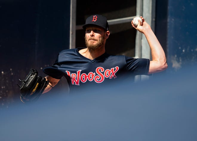 Chris Sale got the rehab start Saturday for the WooSox before a capacity crowd at Polar Park.