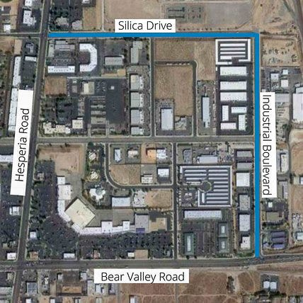 """Construction will begin Monday, June 21, 2021, on Silica Drive and Industrial Boulevard with a """"complete road reconstruction,"""" officials said."""
