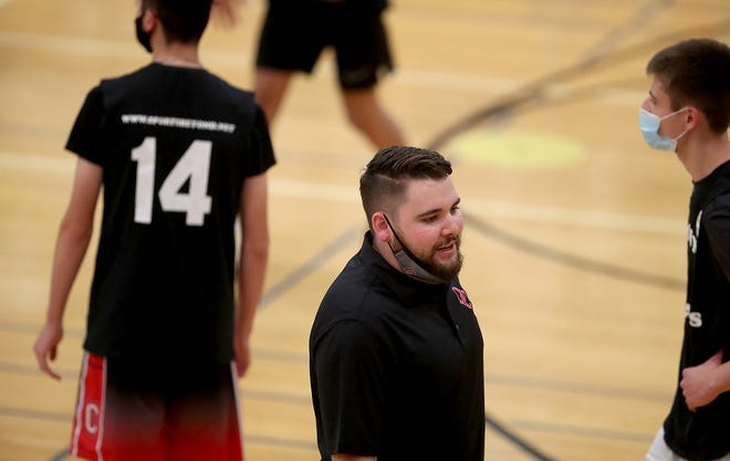New Olympic College men's basketball coach Ryley Callaghan was a standout player at South Kitsap, where he played under his father John Callaghan.
