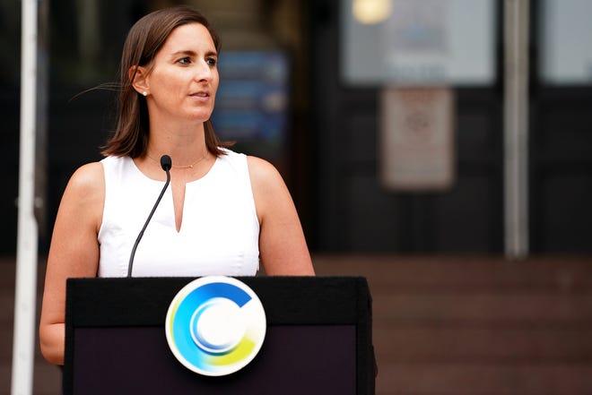 Cincinnati City Council member Liz Keating. Friday,  June 18, 2021.