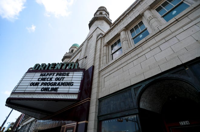 The Oriental Theatre is expected to reopen in August. The East Side movie palace, at 2230 N. Farwell Ave., has been closed since March 2020 because of the pandemic and for extensive renovations.