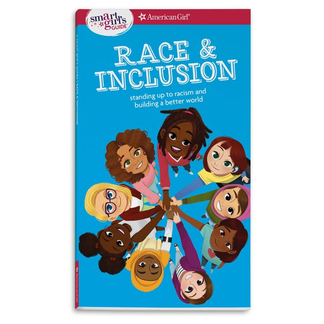 A Smart Girl's Guide: Race & Inclusion, Standing up to Racism and Building a Better World. By Deanna Singh, illustrated by Shellene Rodney.