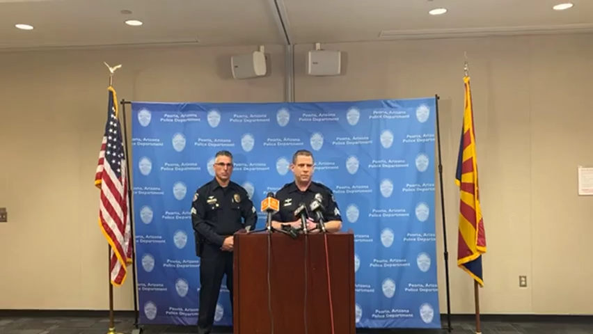 Peoria Police Department discusses multiple shootings