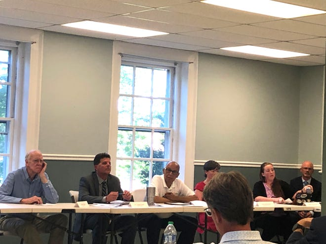 Members of the Staunton City School Board met with Staunton City Council and the Economic Development Association Thursday to work on ideas for a new operations facility for the school division.
