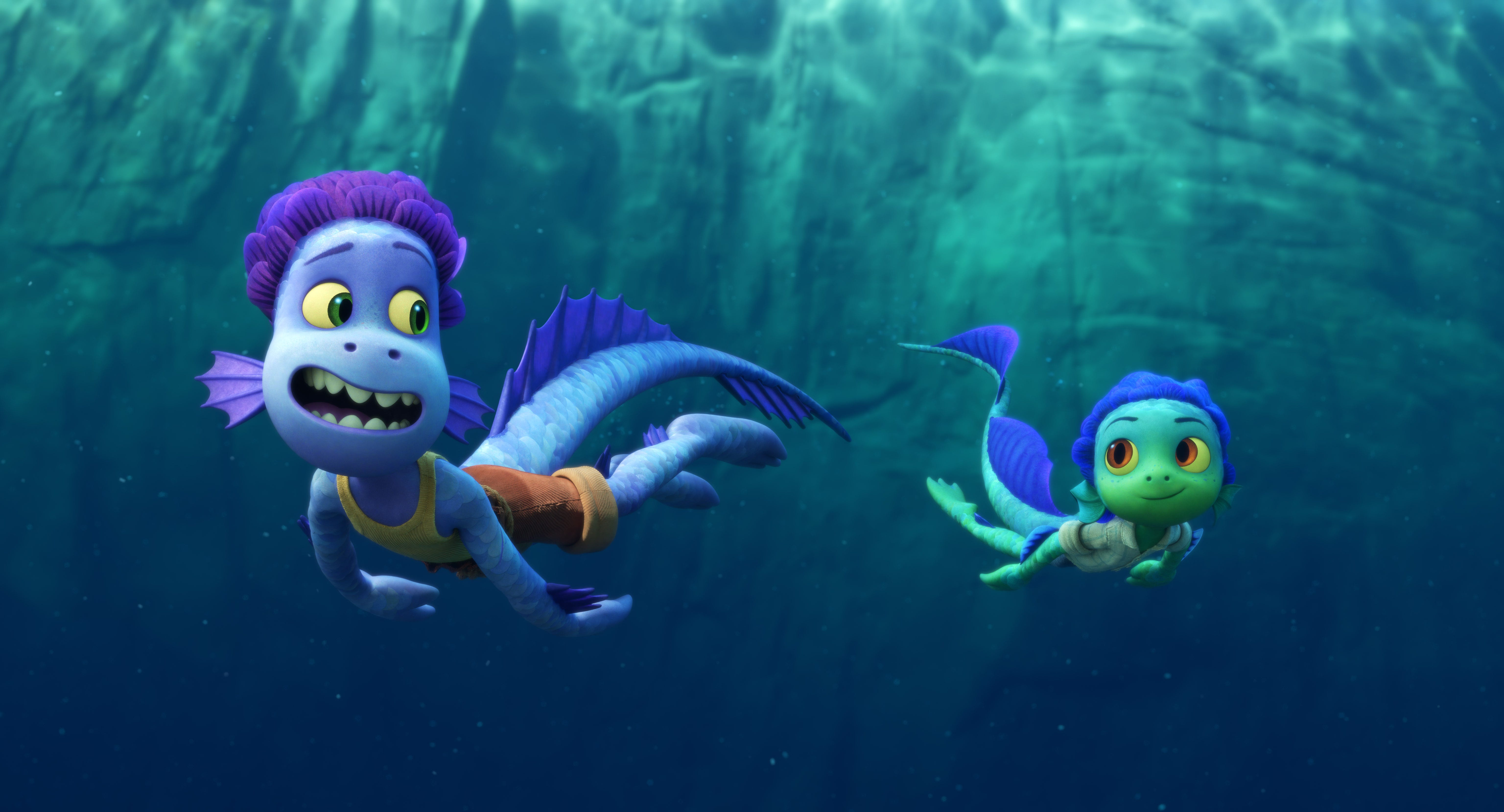 Pixar s  Luca  design inspired by ancient maps, sea iguanas: How the film s look came together