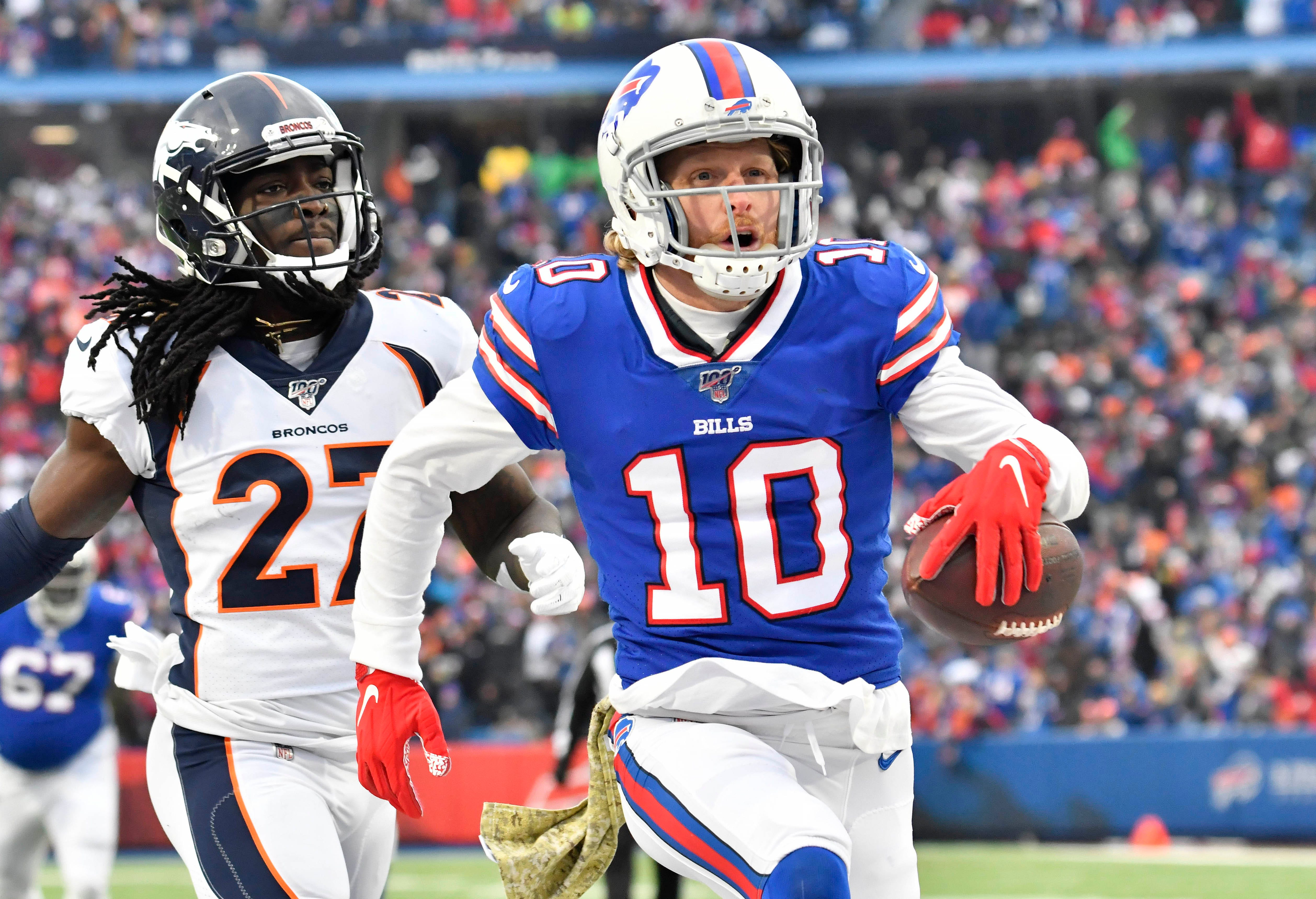 Buffalo Bills' Cole Beasley says he won't be swayed by NFL's COVID-19 protocols