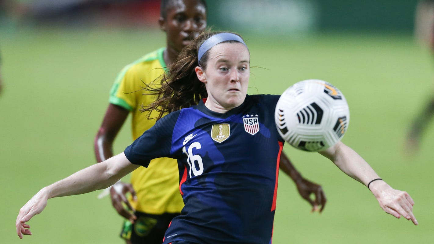 Rose Lavelle on Tokyo Olympics: 'Women's soccer is starting to get the attention it deserves'