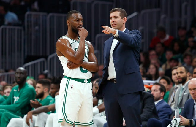 Brad Stevens traded guard Kemba Walker in his first major move as the Celtics president of basketball operations.