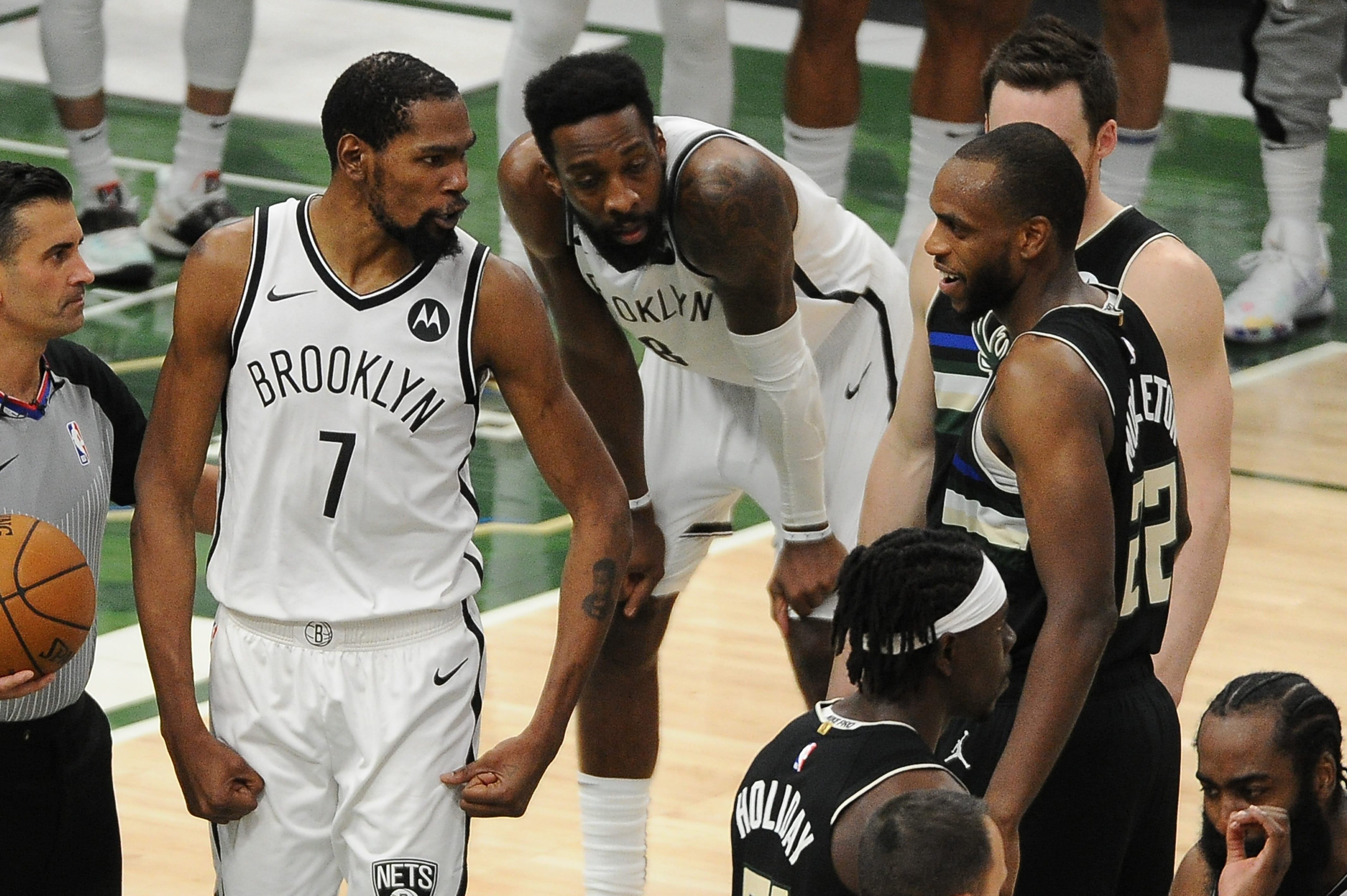 Key Game 7 questions: Do Nets have enough left in the tank? Can Bucks win on the road?