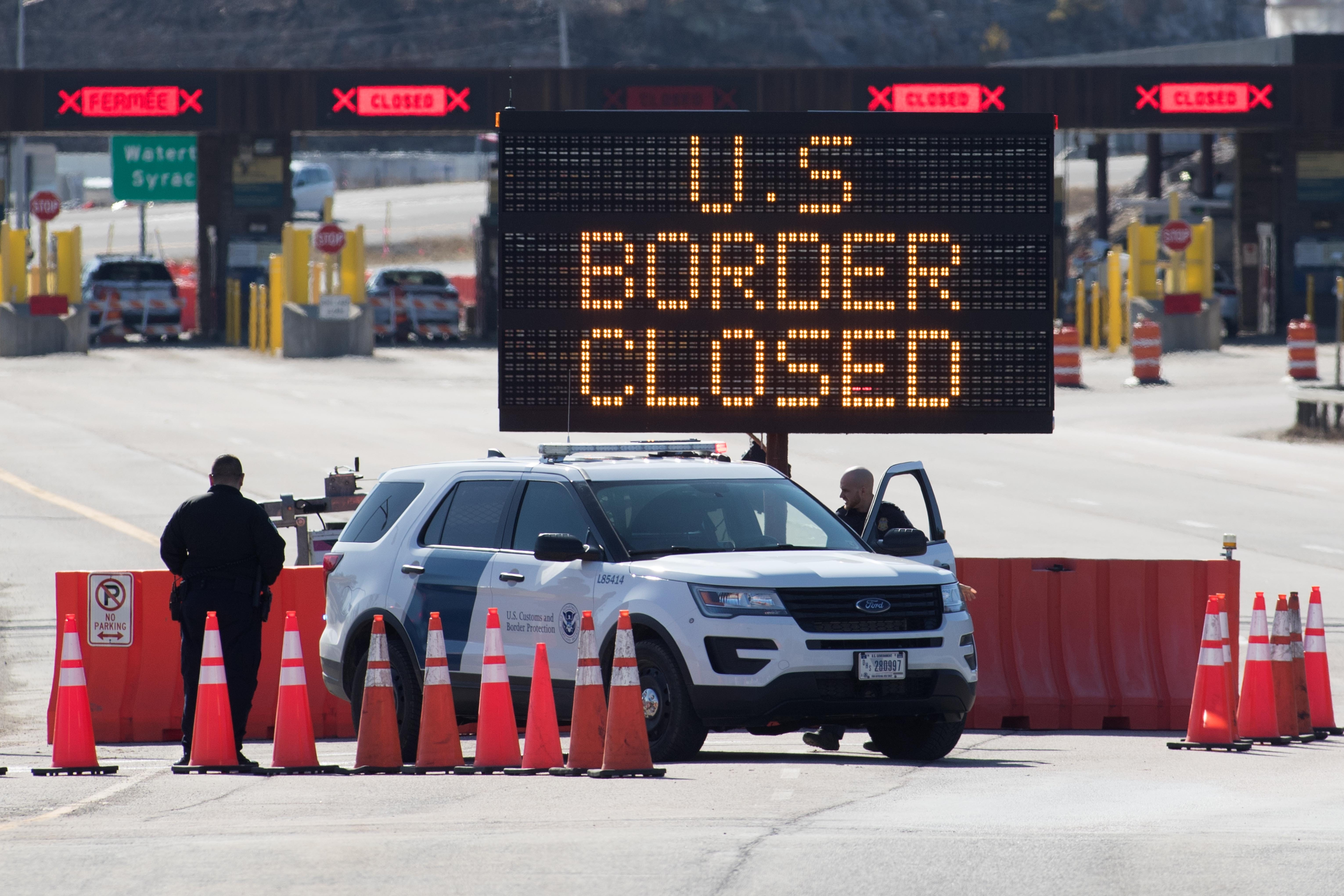US borders with Mexico and Canada will remain restricted to travel through July 21, DHS says