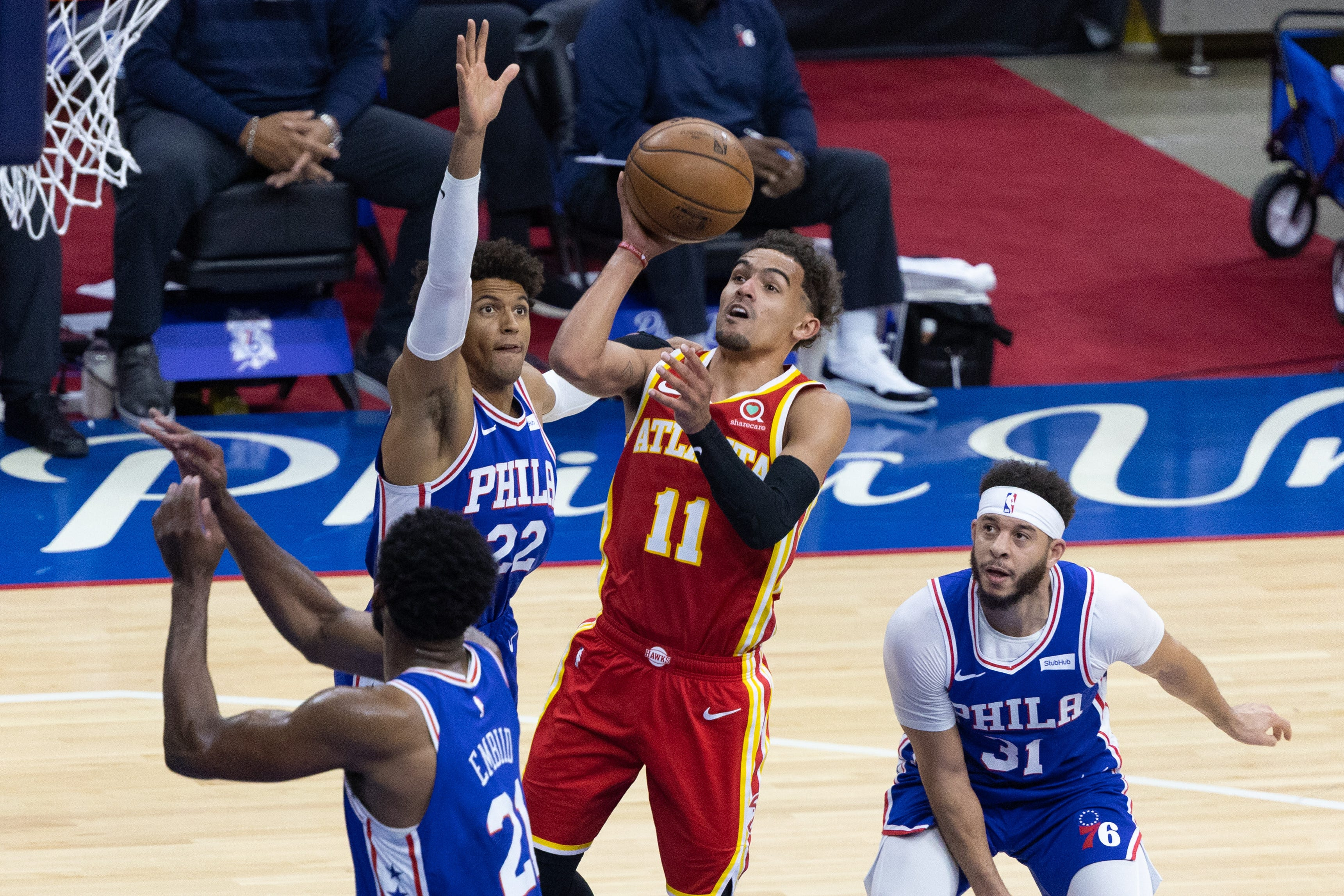Opinion: Facing elimination, 76ers might not be able to overcome late-game meltdowns vs. Hawks