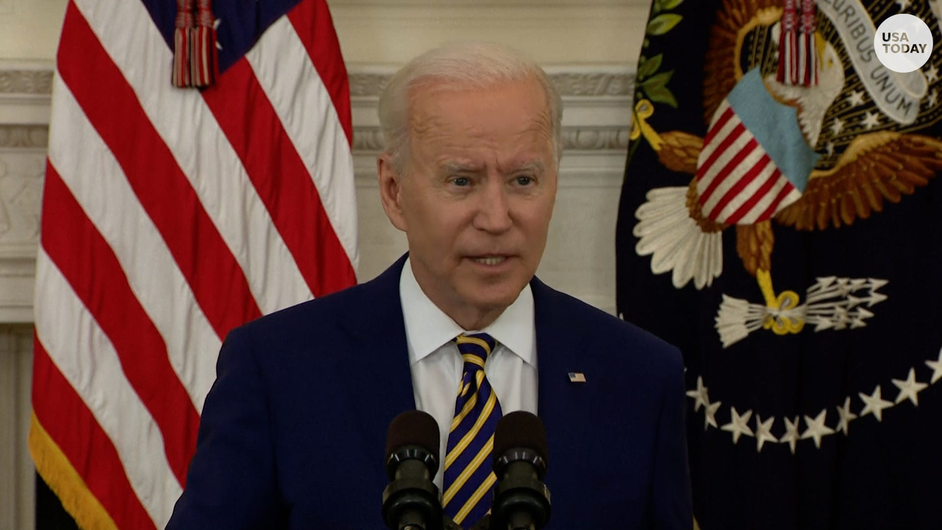 Biden comments on COVID-19 Delta variant and possible rebuke by Catholic Bishops