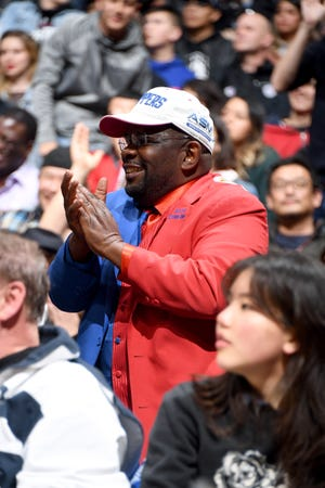 """Darrell Bailey, a.k.a. """"Clipper Darrell, has been the Clippers' superfan since 2000."""